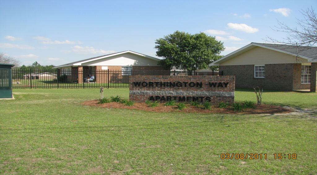 Worthington Way Sign