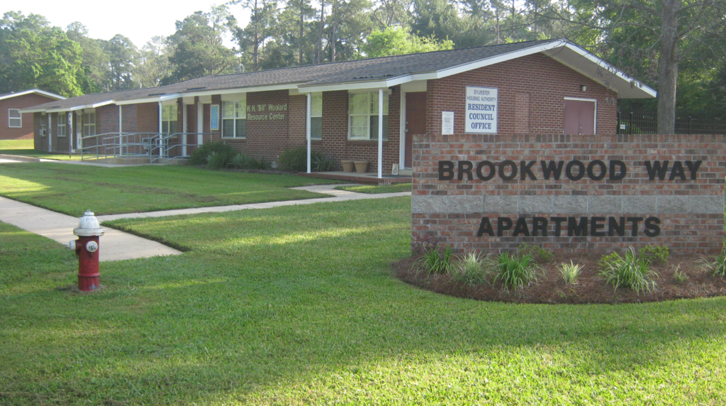Brookwood Way Sign