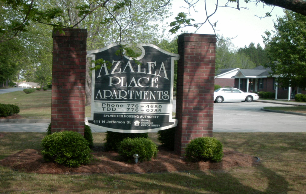 Azalea Place Sign