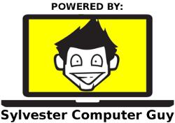 Sylvester Computer Guy Logo